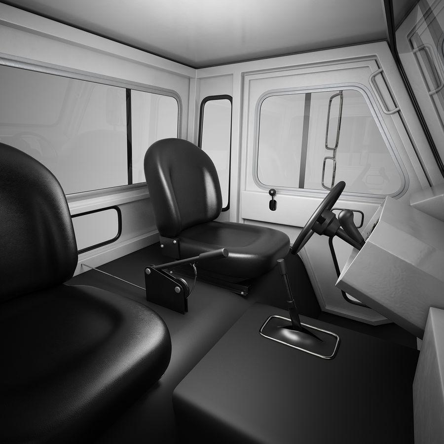 航空機牽引トラクター01 royalty-free 3d model - Preview no. 11
