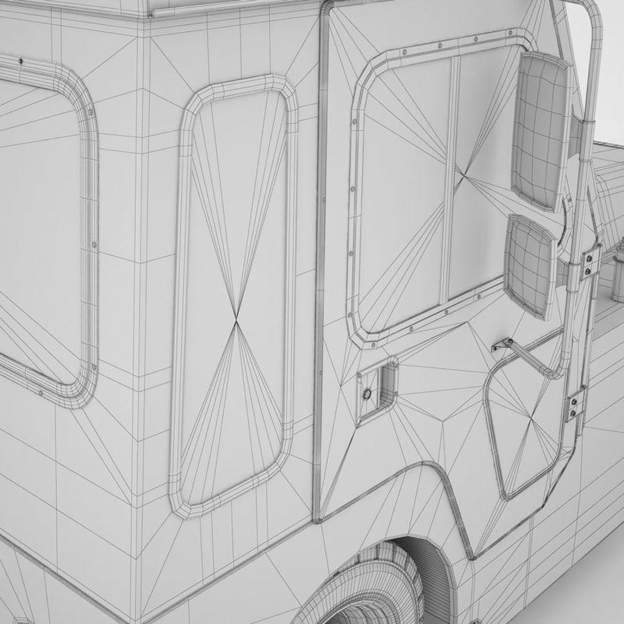 航空機牽引トラクター01 royalty-free 3d model - Preview no. 48