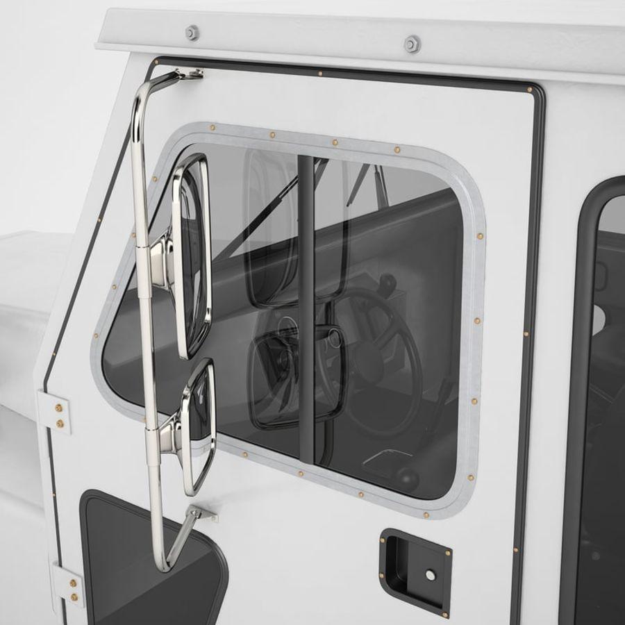 航空機牽引トラクター01 royalty-free 3d model - Preview no. 45