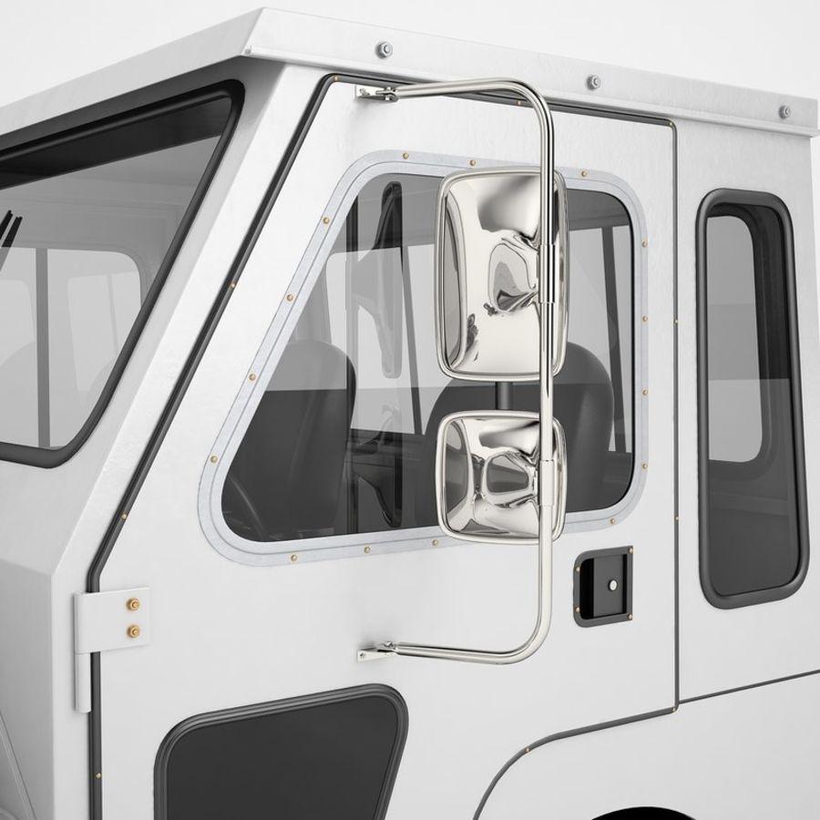 航空機牽引トラクター01 royalty-free 3d model - Preview no. 37