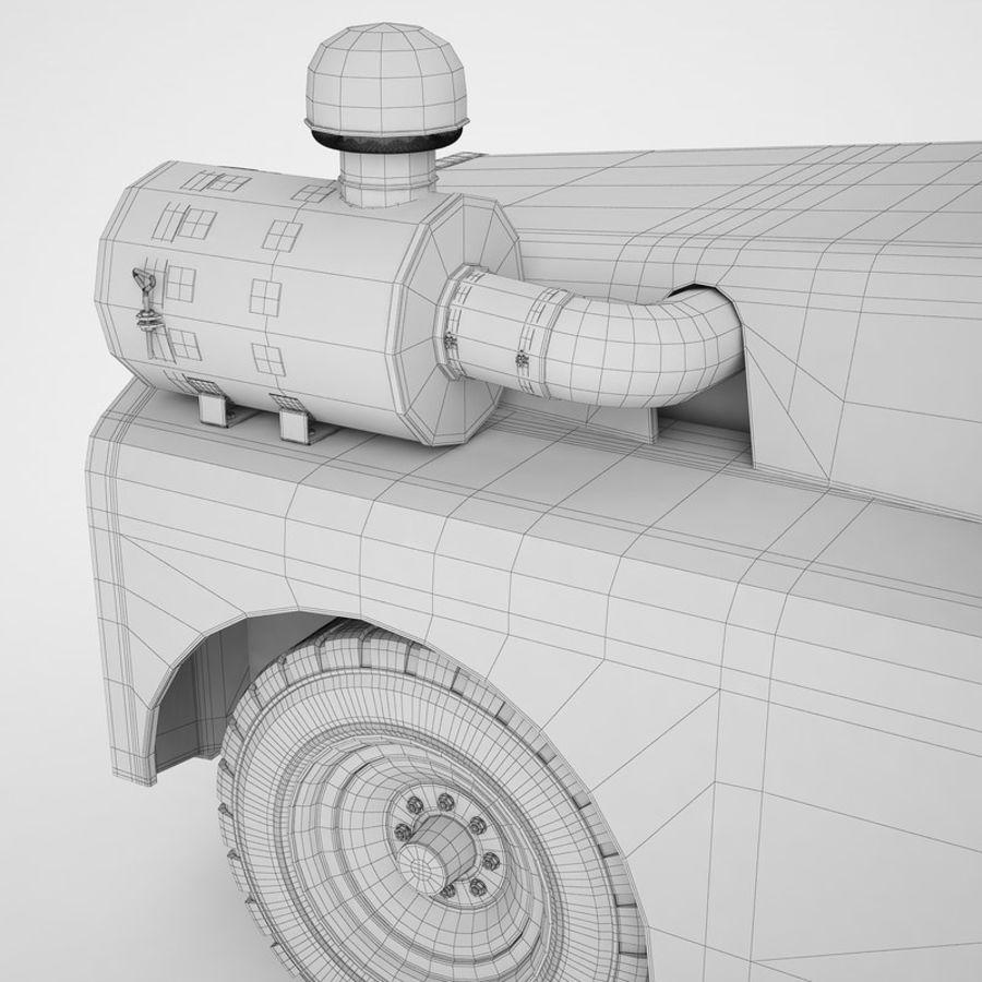 航空機牽引トラクター01 royalty-free 3d model - Preview no. 32