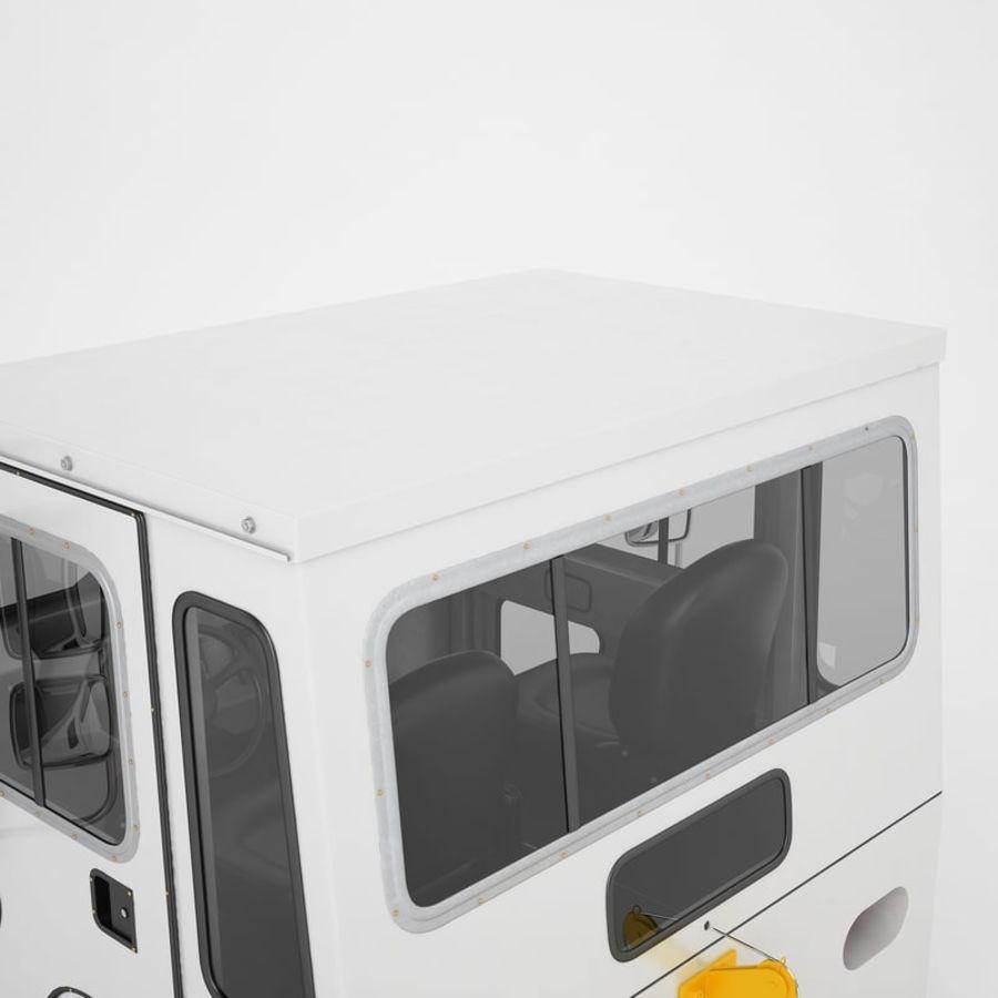 航空機牽引トラクター01 royalty-free 3d model - Preview no. 43