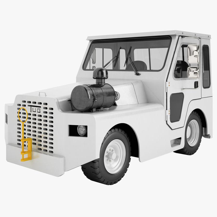 航空機牽引トラクター01 royalty-free 3d model - Preview no. 1