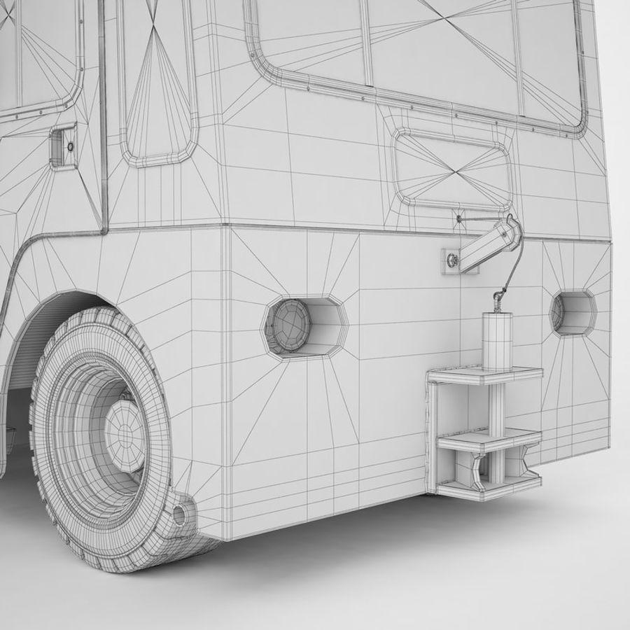 航空機牽引トラクター01 royalty-free 3d model - Preview no. 42
