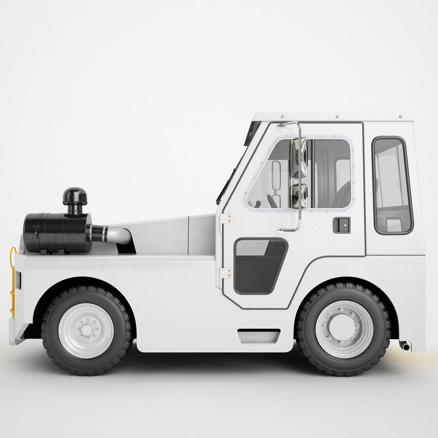 航空機牽引トラクター01 royalty-free 3d model - Preview no. 7