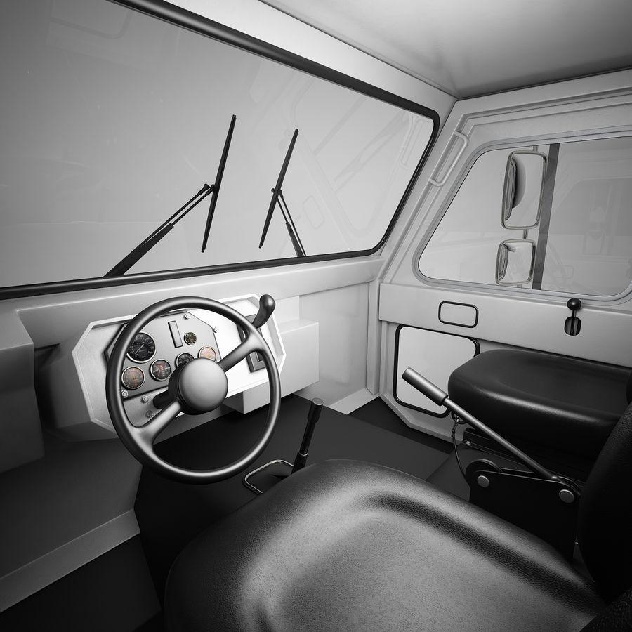航空機牽引トラクター01 royalty-free 3d model - Preview no. 9
