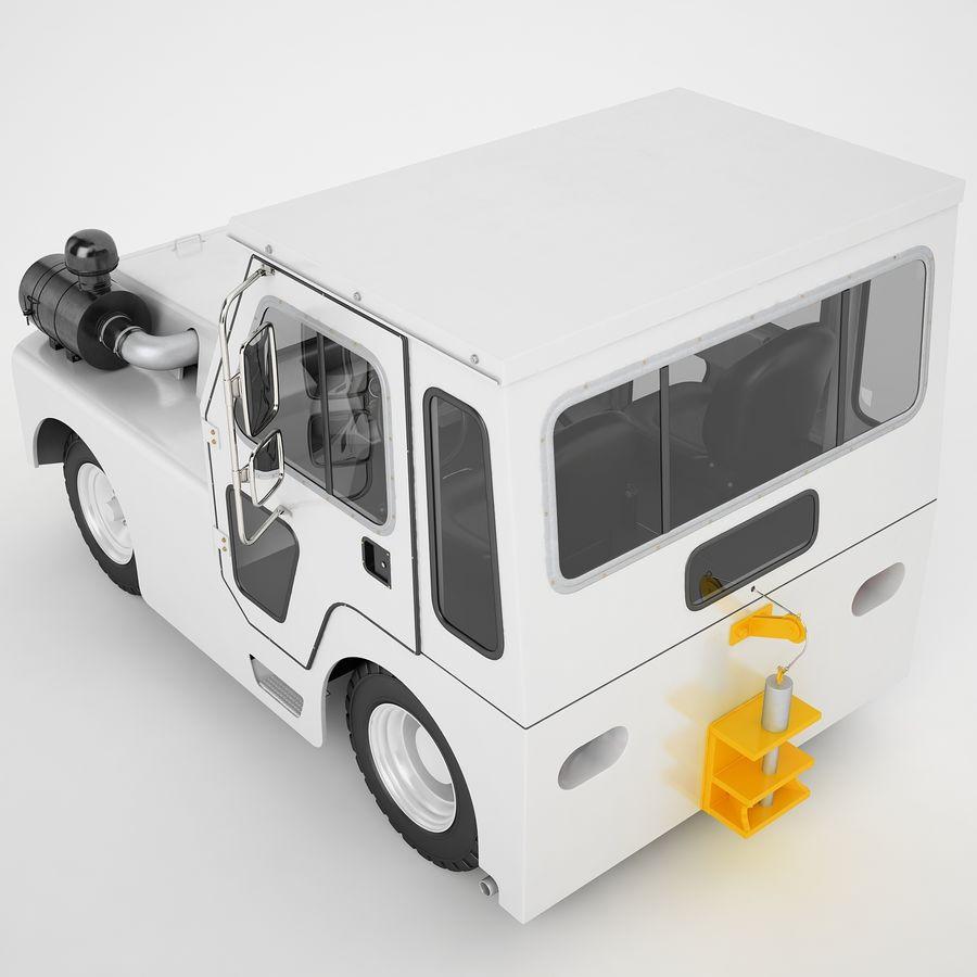 航空機牽引トラクター01 royalty-free 3d model - Preview no. 15