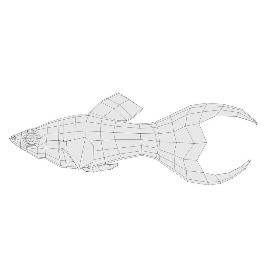 Peces de acuario royalty-free modelo 3d - Preview no. 16
