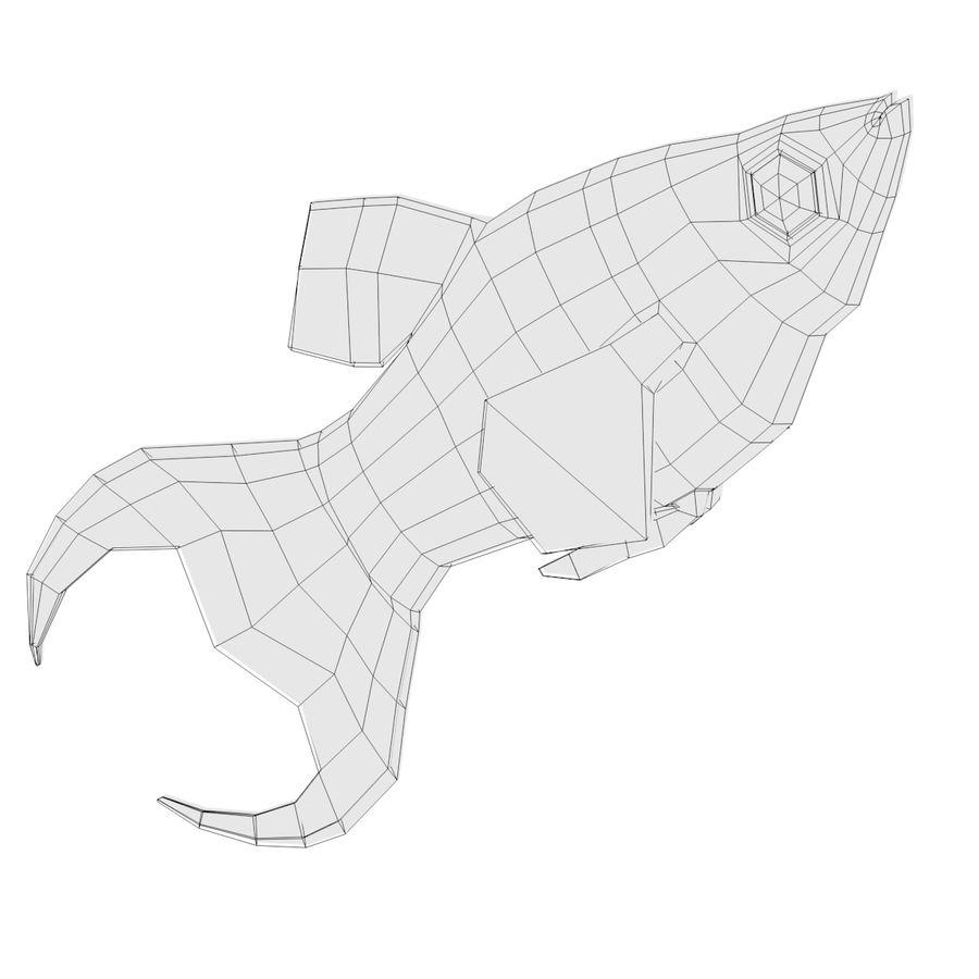Peces de acuario royalty-free modelo 3d - Preview no. 17