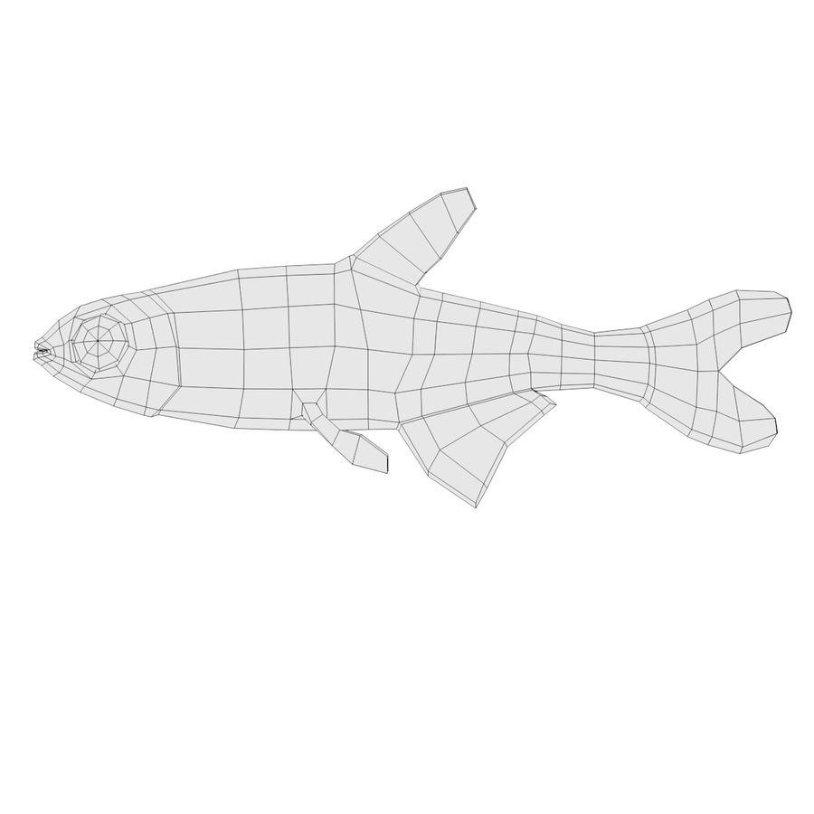 Peces de acuario royalty-free modelo 3d - Preview no. 11