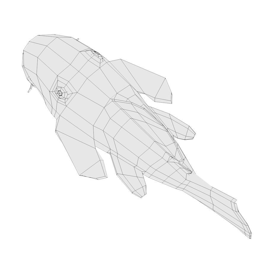 Peces de acuario royalty-free modelo 3d - Preview no. 5
