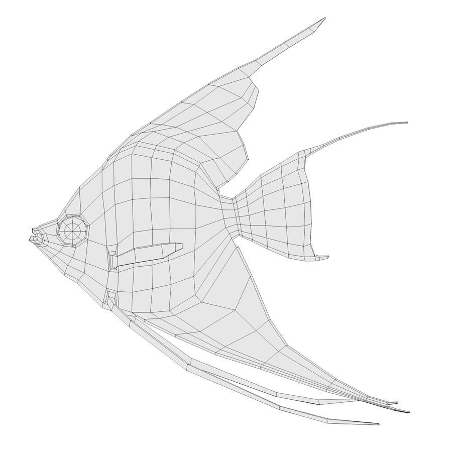 Peces de acuario royalty-free modelo 3d - Preview no. 21
