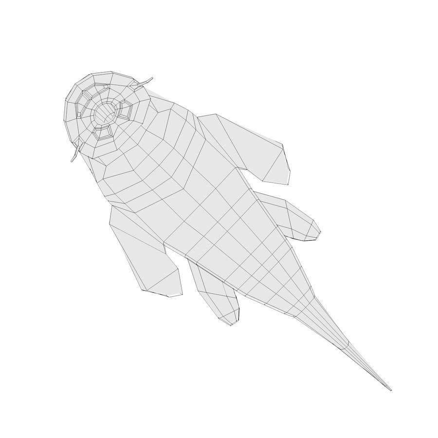Peces de acuario royalty-free modelo 3d - Preview no. 7