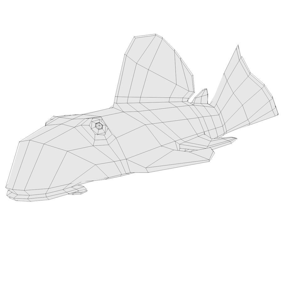 Peces de acuario royalty-free modelo 3d - Preview no. 6
