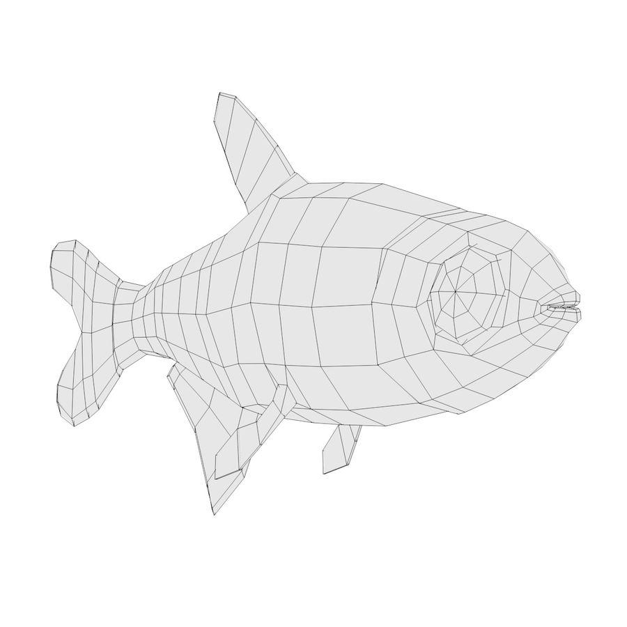 Peces de acuario royalty-free modelo 3d - Preview no. 12
