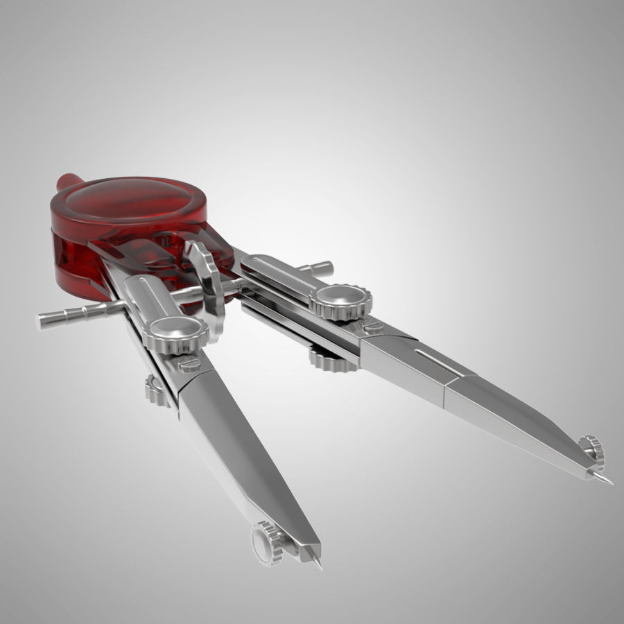 kompasy royalty-free 3d model - Preview no. 9