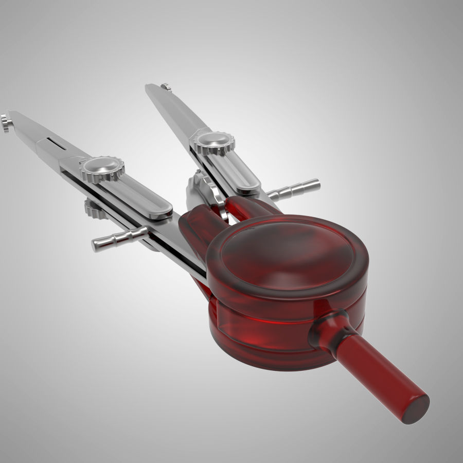 Bussole royalty-free 3d model - Preview no. 7