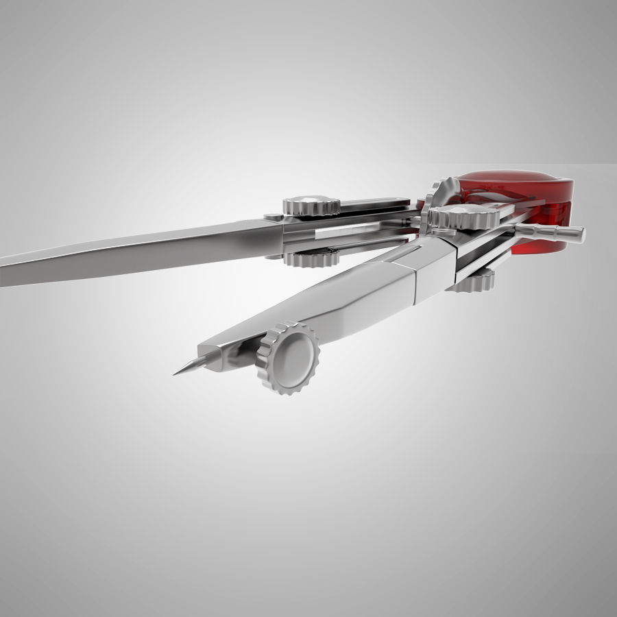 kompasy royalty-free 3d model - Preview no. 4