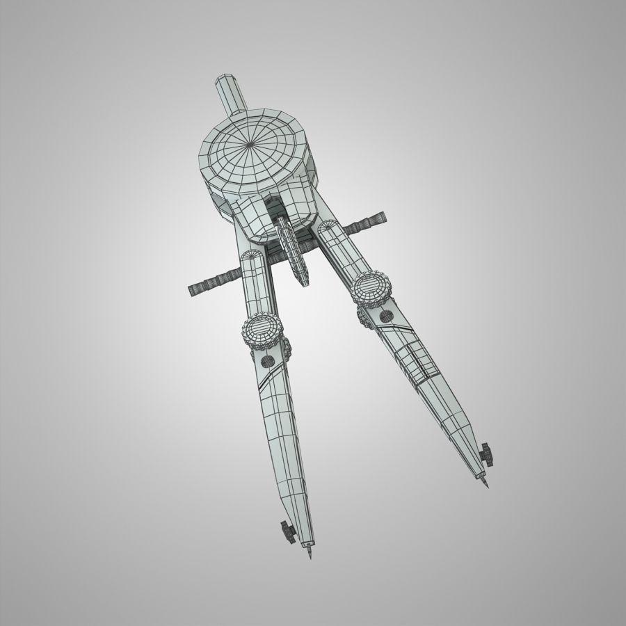 kompasy royalty-free 3d model - Preview no. 11