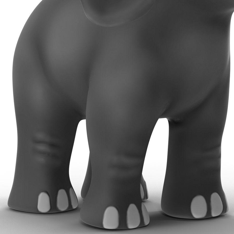 Éléphant de dessin animé royalty-free 3d model - Preview no. 18