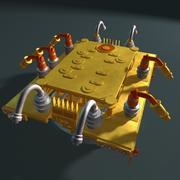 Production Manifold 3d model