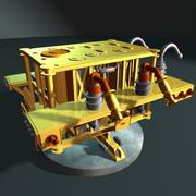 Collecteur de gaz 3d model