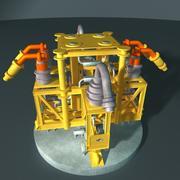 Su enjeksiyon manifoldu 3d model
