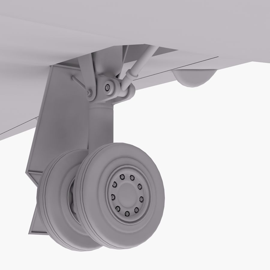 Dassault Falcon 2000LXS 6 royalty-free 3d model - Preview no. 24