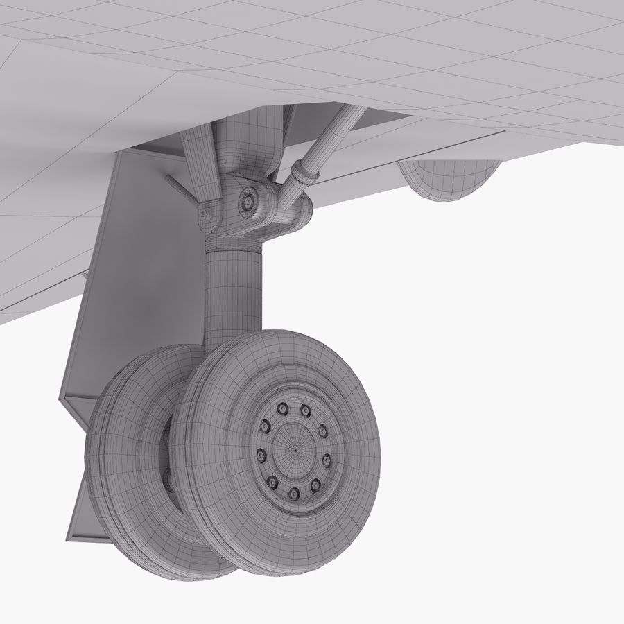 Dassault Falcon 2000LXS 6 royalty-free 3d model - Preview no. 40