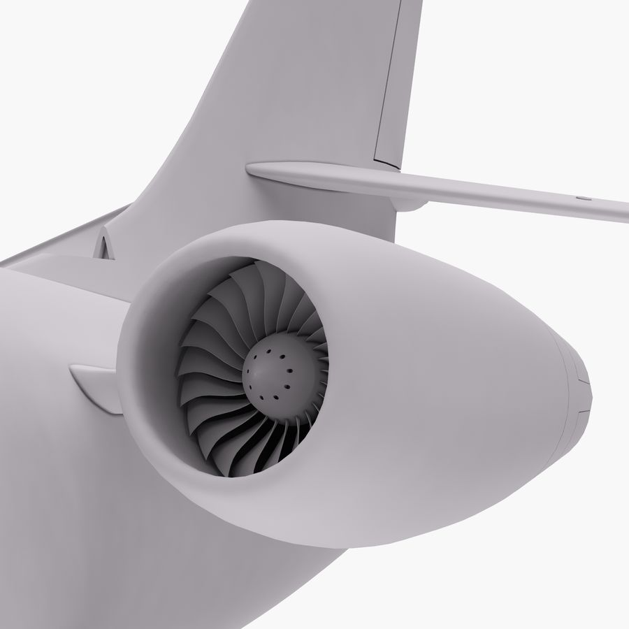 Dassault Falcon 2000LXS 6 royalty-free 3d model - Preview no. 27