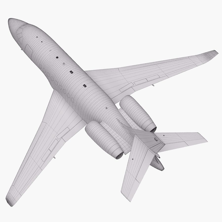 Dassault Falcon 2000LXS 6 royalty-free 3d model - Preview no. 42