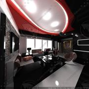 Modernes Interieur 3d model