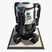 Sci Fi Engine Reactor 3d model