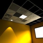 Drop Ceiling Grid Set 3d model