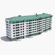 铜屋公寓 3d model