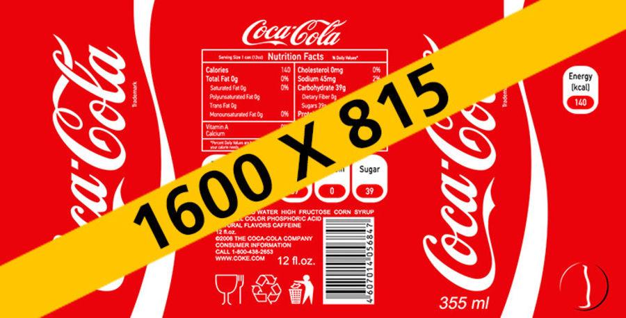 Coca cola royalty-free 3d model - Preview no. 13