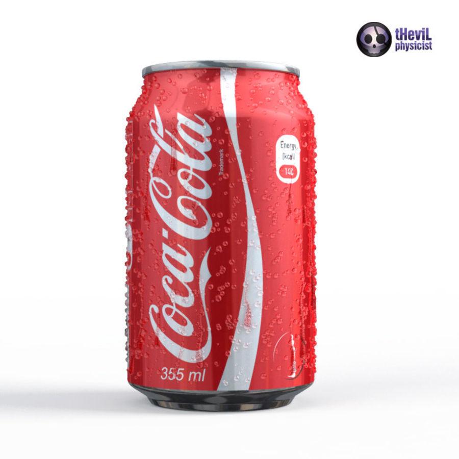 Coca cola royalty-free 3d model - Preview no. 7