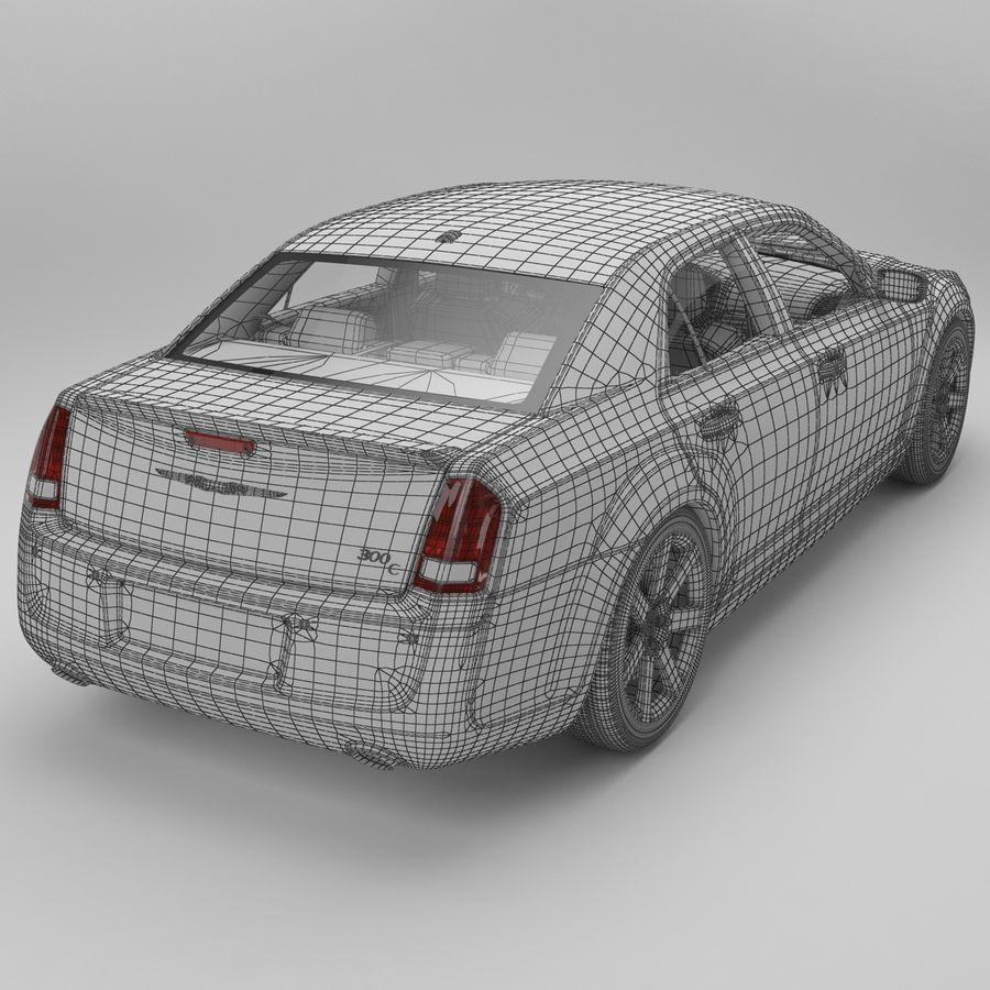 2012克莱斯勒300 C royalty-free 3d model - Preview no. 14