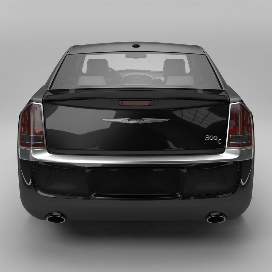 2012克莱斯勒300 C royalty-free 3d model - Preview no. 5