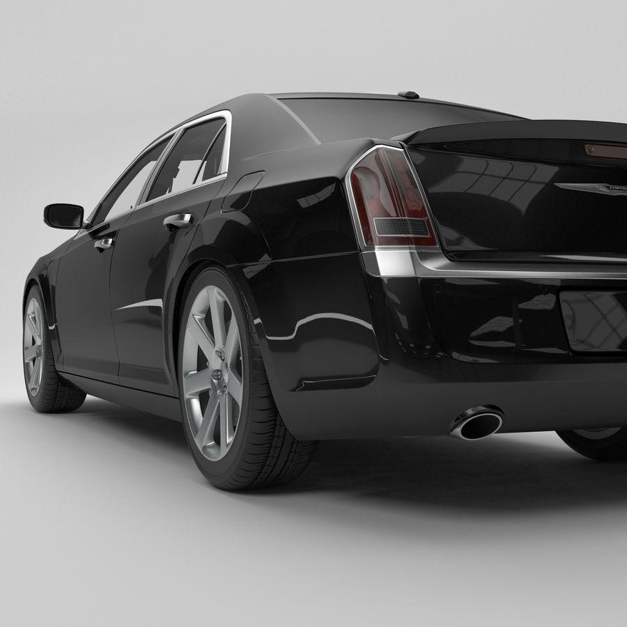 2012克莱斯勒300 C royalty-free 3d model - Preview no. 11