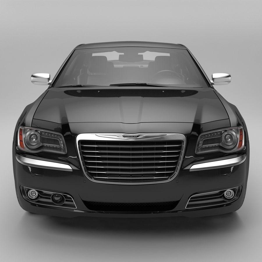 2012克莱斯勒300 C royalty-free 3d model - Preview no. 4