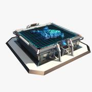 Tavolo Sci Fi 3d model