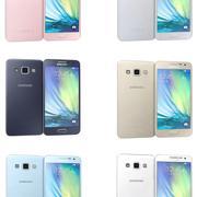 Samsung Galaxy A7 Alla färger 3d model