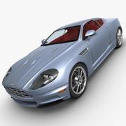 Aston Martin DBS Limousine 3d model