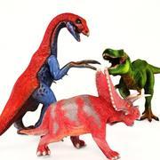 Dinosaurier Spielzeug Bundle 3d model