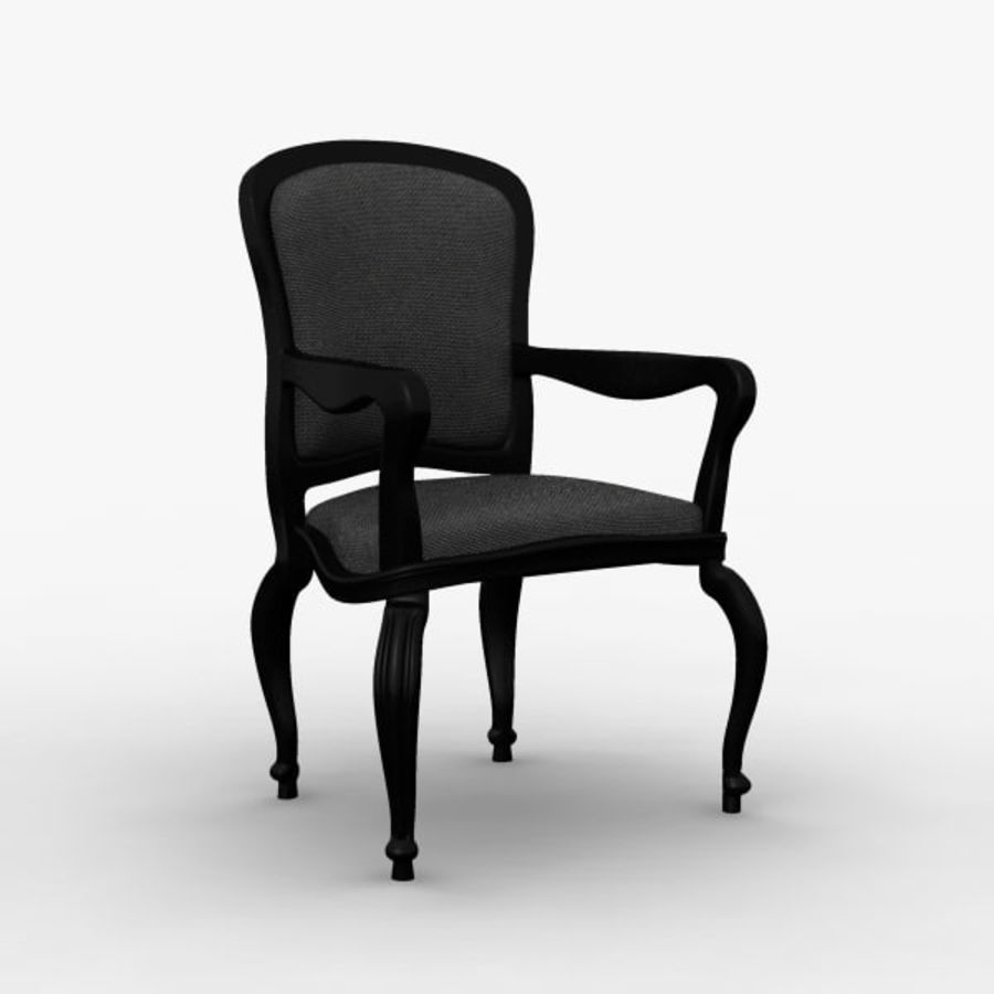 Античный стул royalty-free 3d model - Preview no. 1