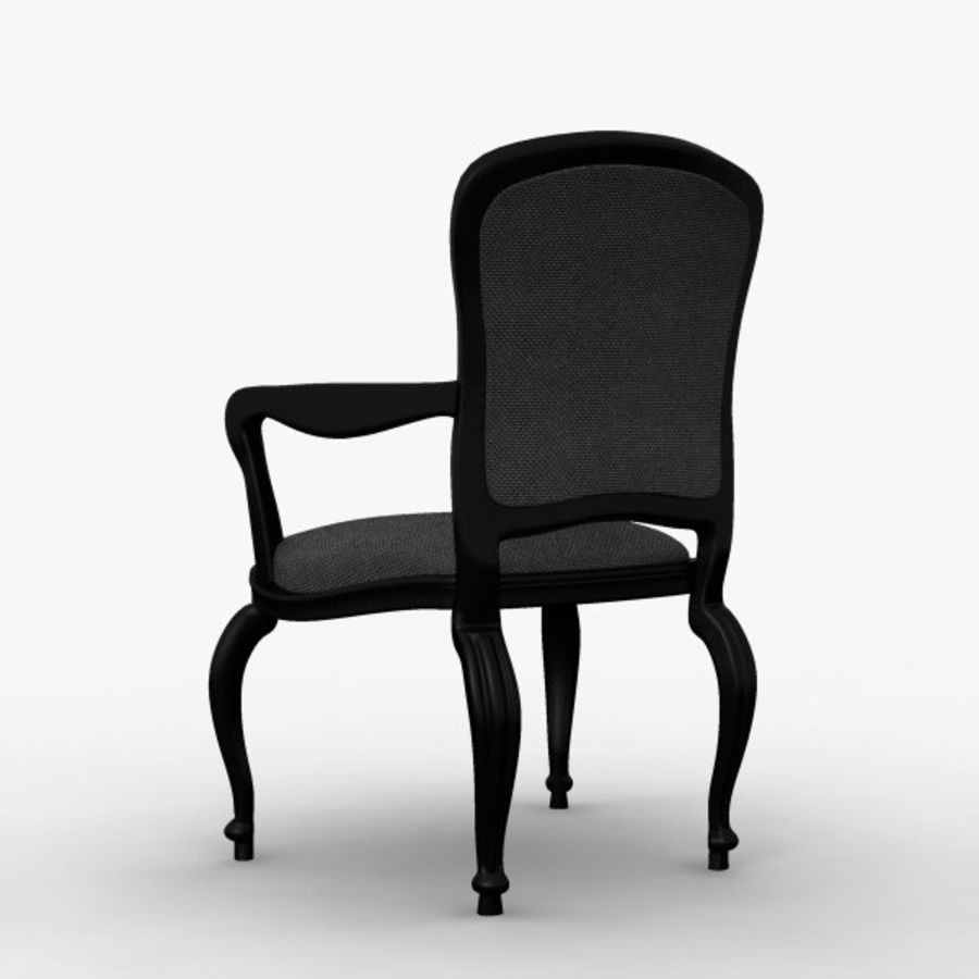 Античный стул royalty-free 3d model - Preview no. 5