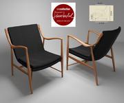 Chair 1945 3d model