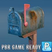 letter box 3d model