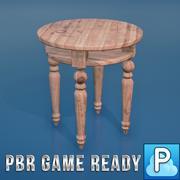 桌上游戏准备好了 3d model